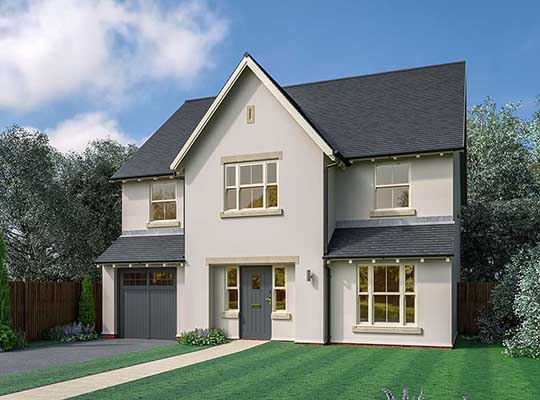 WEDGWOOD PARK SHOW HOME WILL SHOWCASE NATURAL BEAUTY