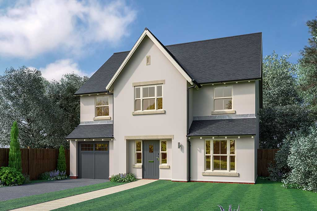 Wedgwood park show home will showcase natural beauty for New build 5 bedroom house