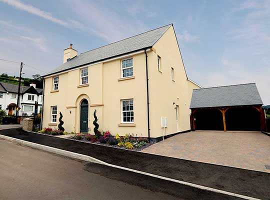 CRICKHOWELL NEW HOMES TO ENTER FINAL PHASE