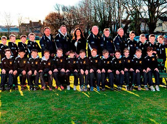 EDENSTONE HOMES KITS OUT RUGBY TEAM