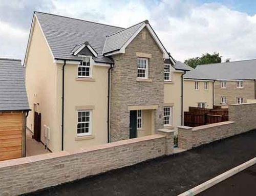 SPRING UP THE HOUSING LADDER IN CRICKHOWELL