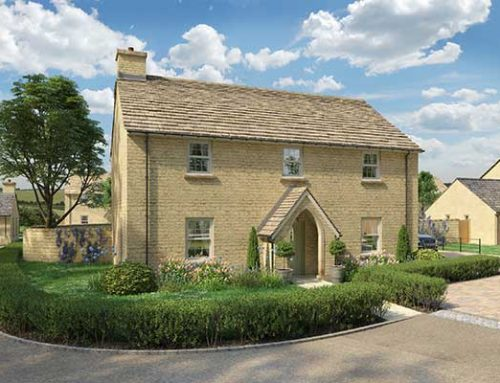 GLOWING RESPONSE TO GLOUCESTERSHIRE SHOW HOME