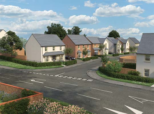 HIGH DEMAND FOR NEW HOMES IN DINAS POWYS