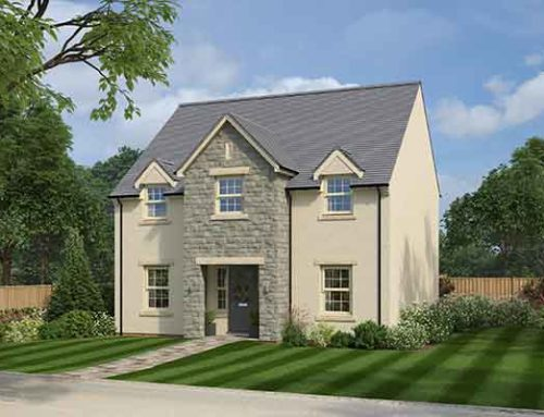 DOORS OPENING TO DINAS POWYS SHOW HOME