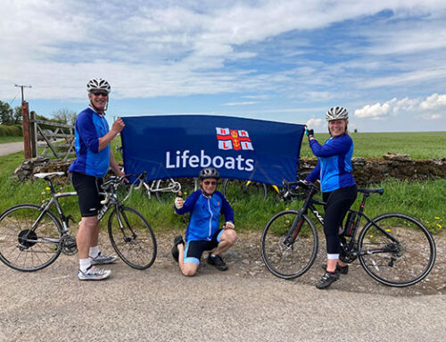 SITE MANAGER PHIL IS GETTING ON HIS BIKE IN MEMORY OF SON MIKE