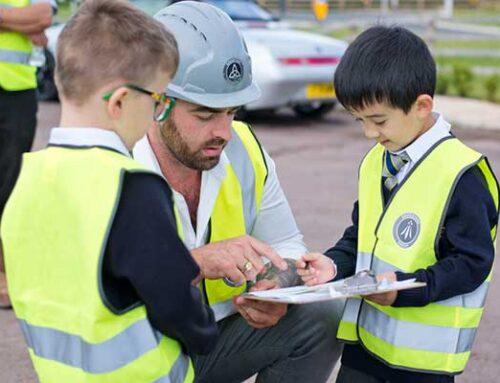 CHILDREN ENJOY NATURE TRAIL AND SAFETY LESSON THANKS TO EDENSTONE